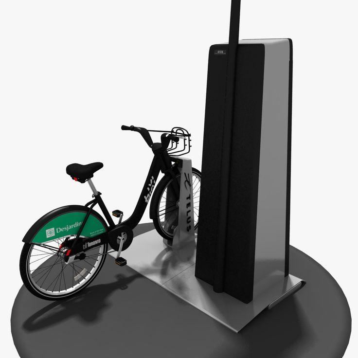 3D MODEL: https://www.turbosquid.com/3d-models/toronto-bixi-3d-model/677239?referral=cermaka