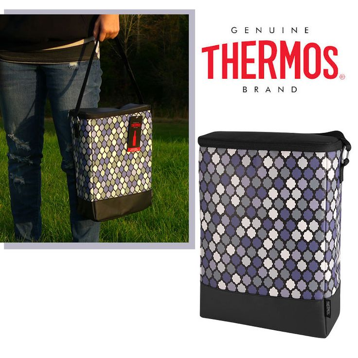 FREE - Thermos Designer Insulated Food and Beverage Cooler Carrier