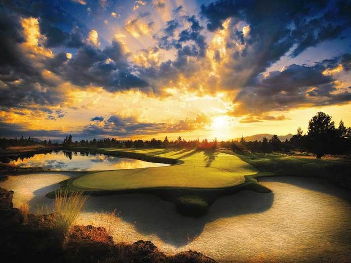 Pronghorn Golf Course- Bend, Oregon. Looks like a fun golf course to play :)