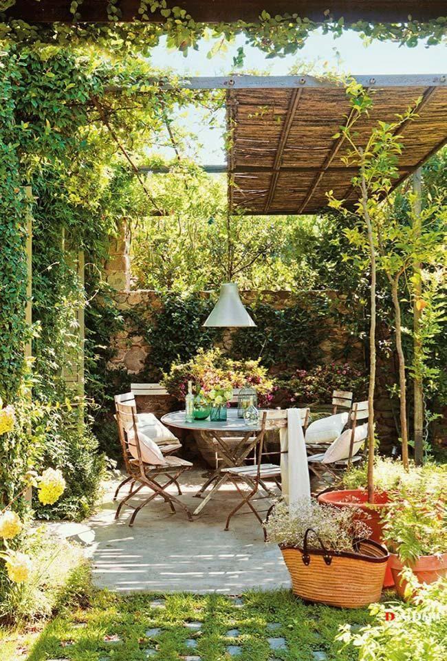 Kleiner Garten: 60 Modelle und inspirierende Designideen #Gartendekoration #Hochbeet # …   – Garten