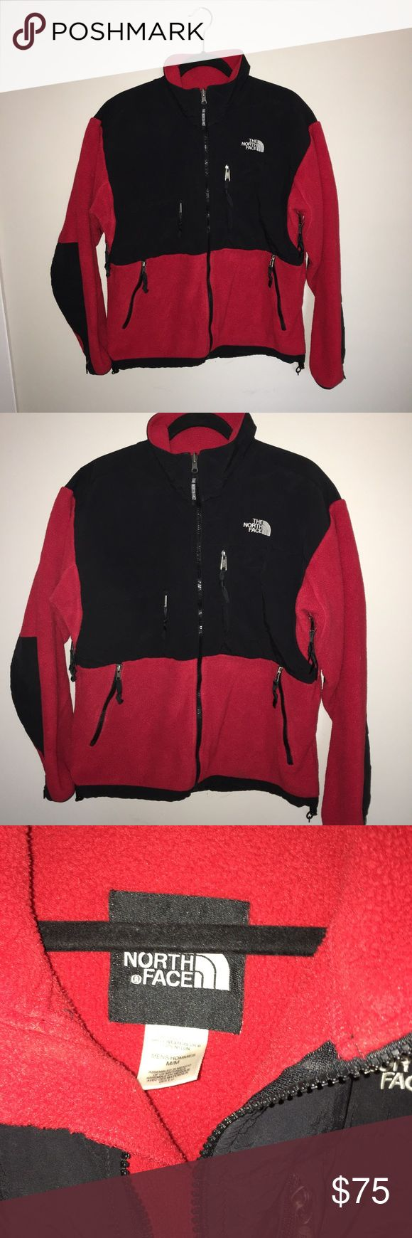 Red North Face Mens Jacket In Good Condition The North Face Jackets & Coats