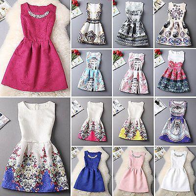 Sommer Mode Damen Ärmellos Abendkleid Partykleid Sommerkleid Kleid Womens Dress in Kleidung & Accessoires, Damenmode, Kleider | eBay