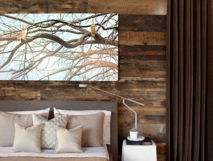 chambre-adulte-complete-design-champetre-tapis-beige-couverture-de-lit-satin-peche-coussins-beige-champagne