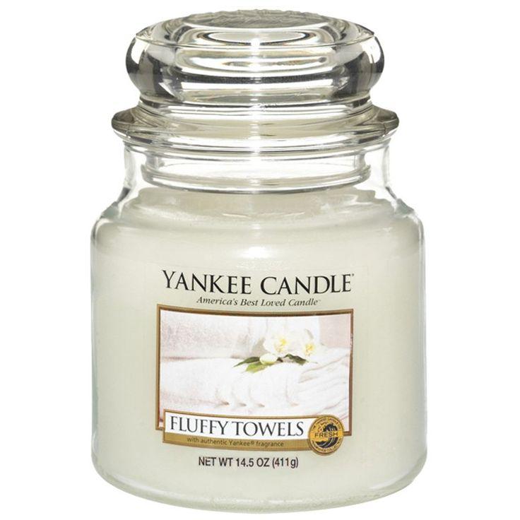 Moyenne Jarre / Bougie parfum Serviettes Moelleuses / Fluffy Towels - Yankee Candle Yankee Candle : EcoDesignConcept.com votre galerie de produits naturels, ecologiques, ethiques en ligne ! Large choix d'objets ecodesign, bio