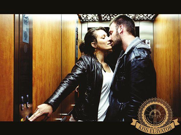 KISS ELEVATOR by Lyz Halluin, via Behance
