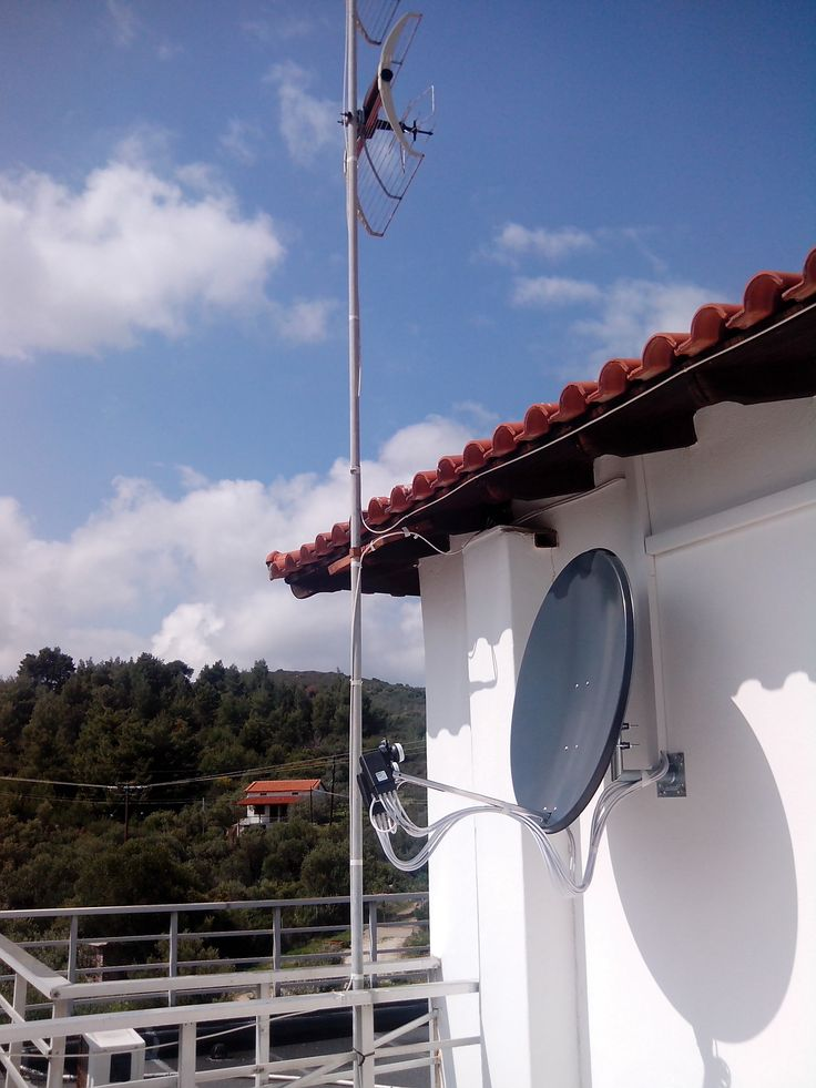 SAT TV with two satellites: Hotbird 13 East and Eutelsat 9