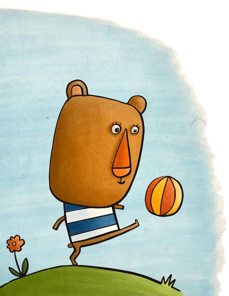 El pulpo con lápiz - Oskar the Bear