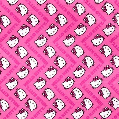 26 Best Hello Kitty Images On Pinterest Cotton Fabric