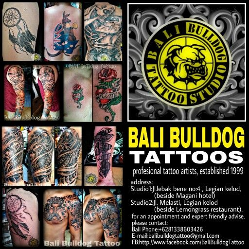 Bali Bulldog Tattoo