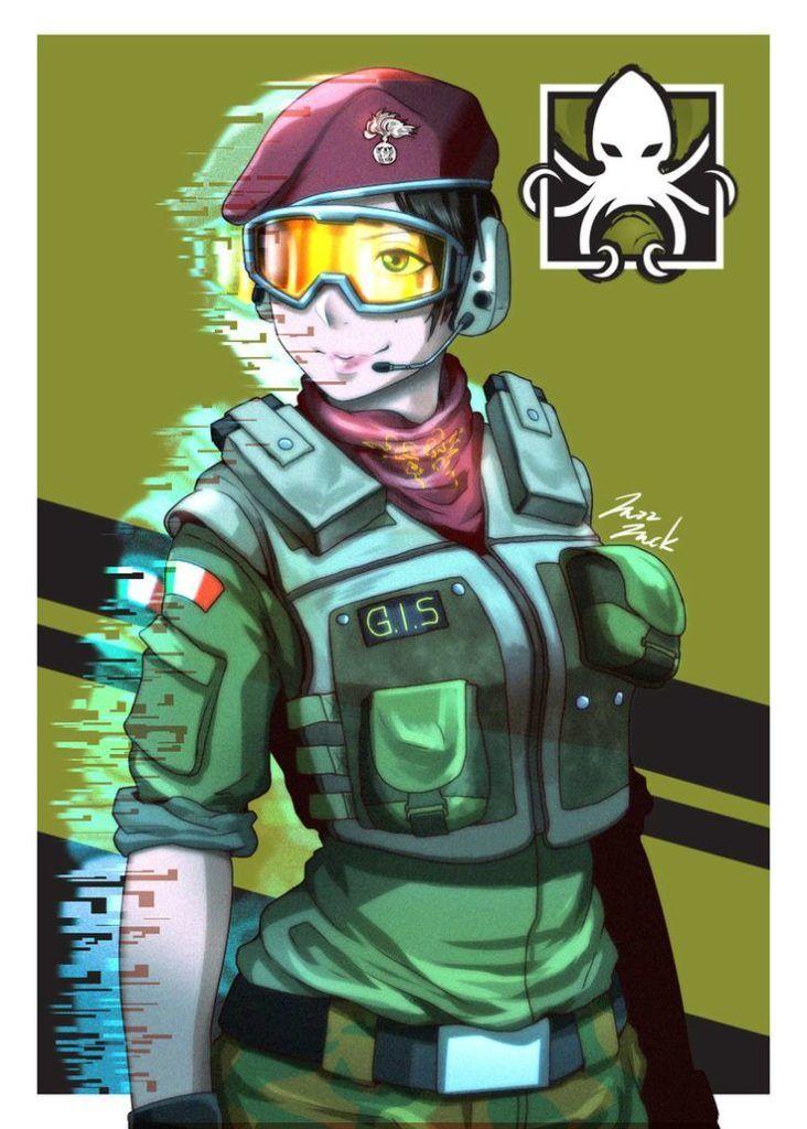 Rainbow Six Siege Alibi By Jazzjack Kht With Images Rainbow
