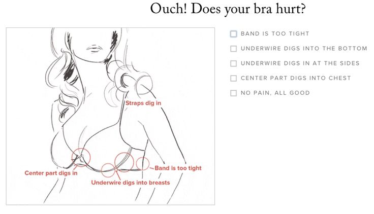 Figure out your biggest bra ~qualms~.
