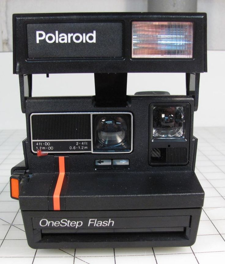 Polaroid One Step Flash Instant Camera #Polaroid