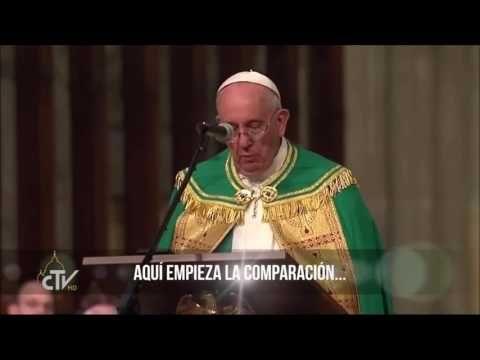 EL PAPA FRANCISCO DICE, DIOS ES UN FRACASO - YouTube