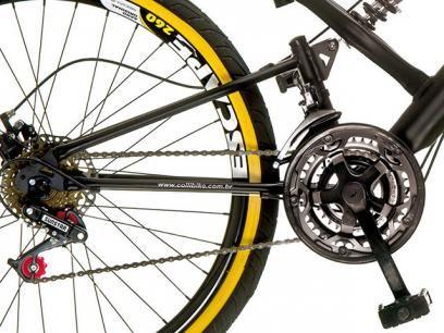 Bicicleta Colli Bike Renault Aro 26 21 Marchas - Dupla Suspensão Freio a Disco com as melhores condições você encontra no Magazine Ottobiel. Confira!