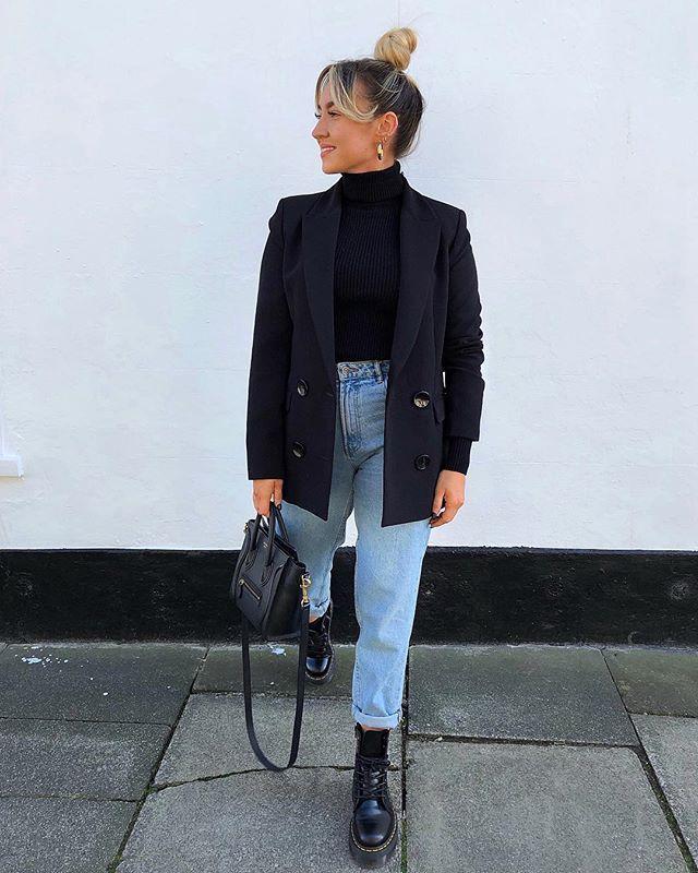 Marcher publicité Zara, mais malheureusement pas payé. Lol.Blazer – Zara Denims…