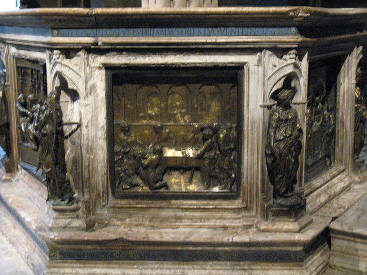Пир Ирода скульптора Донателло.