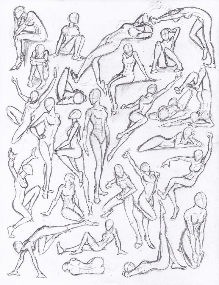 Mas De 1000 Ideas Sobre Dibujo De Referencia En Pinterest Dibujando Poses Global Blo En 2020 Dibujos Con Figuras Tutorial De Dibujo De Figuras Dibujo De Posturas