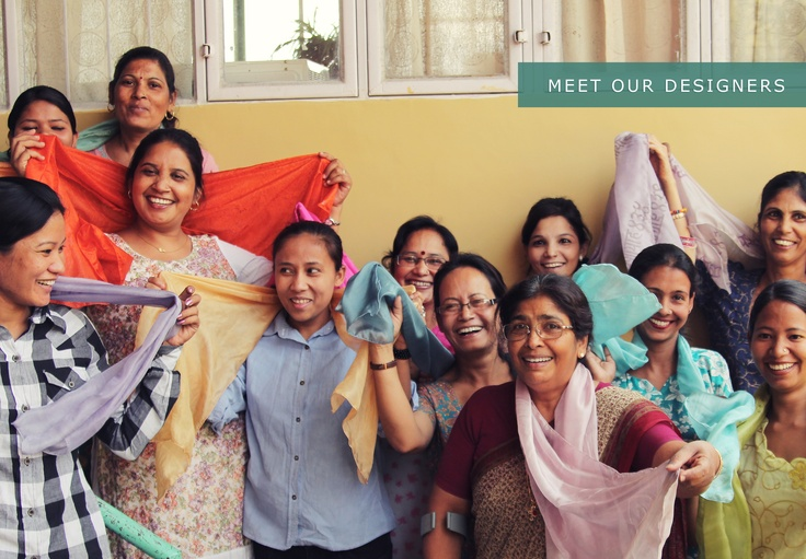 #Artisans of the Day: Meet our designers from Northern #India! This fun group of ladies created our #Story Scarf.     Read their story, and don't forget to repin!      http://blog.storycompany.com/scarves-that-tell-stories-and-help-women/