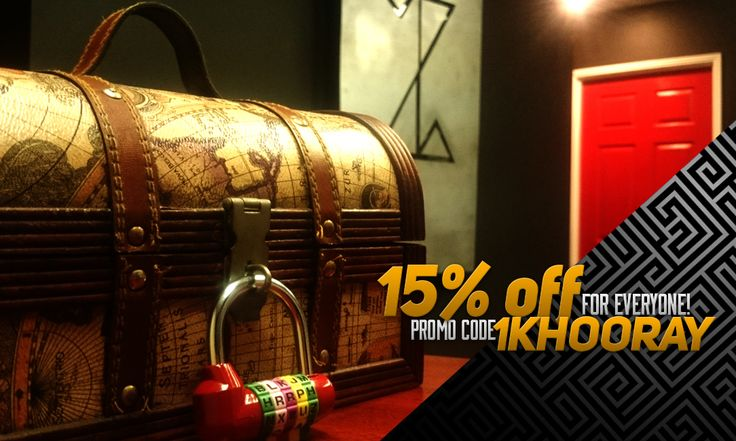 In thanking everyone for helping us achieving 1000 Likes on Facebook, we are giving away 15% off all game bookings! Simply use the promo code: 1KHOORAY to receive, expires in 7 days. But wait, Mystery Prizes can also be won! Everyday for the next 7 days we will post a promo code that can only be used once, ranging from 30% off to Free Games! Act fast and best of luck. www.puzzledroomescape.com.au