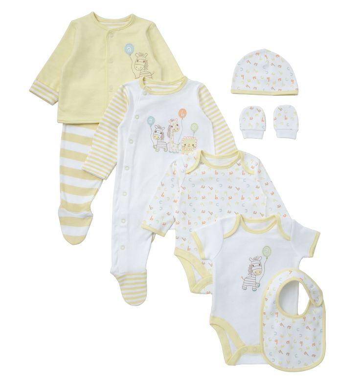 Mothercare Unisex 8 Piece Newborn Gift Set