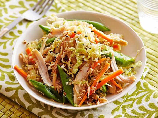 Asian Chicken and Quinoa Salad: Food Network, Salad Recipes, Foodnetwork Com, Asian Salad, Network Kitchens, Chicken Quinoa, Asian Chicken, Quinoa Salad, Asian Quinoa