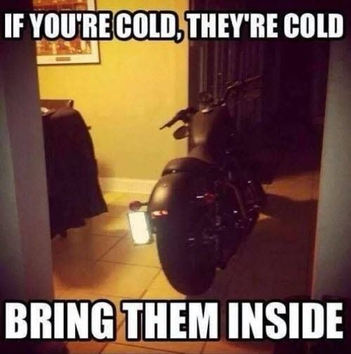 A little winter motorcycle humor...