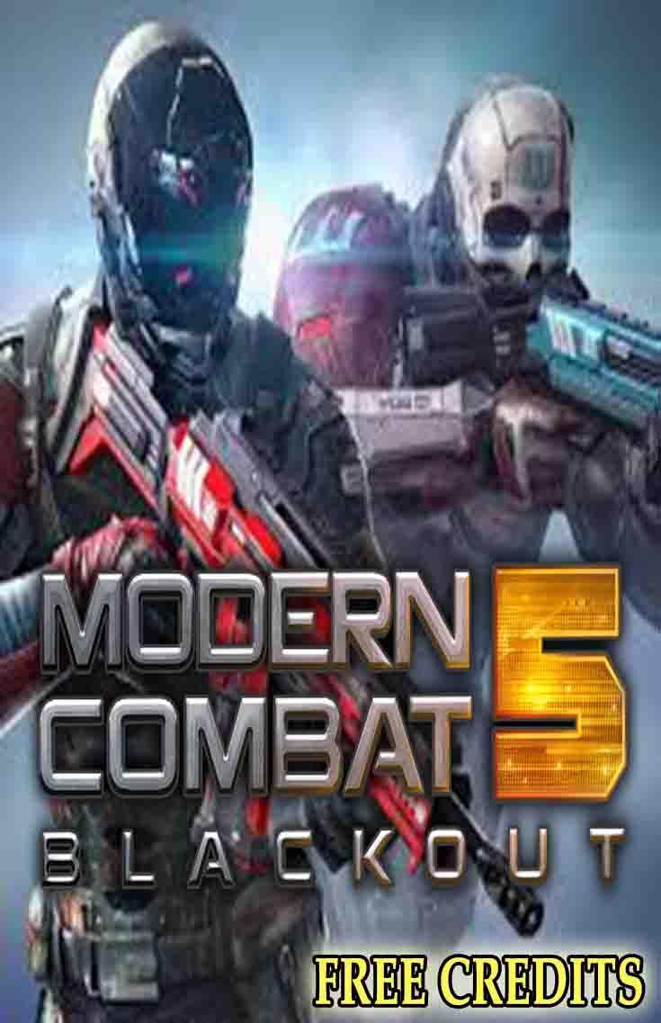 Modern Combat 5 Hack Free Credits In 2020 Combat Modern Hacks