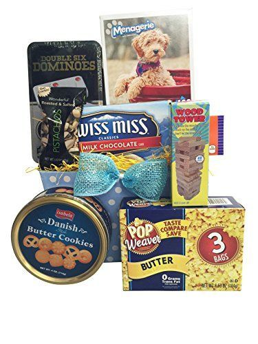 Fun Family Night Valentine Gift Baskets Puzzel Games  Snack Gourmet ** You can find more details by visiting the image link.