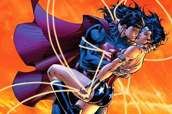Superman in love!