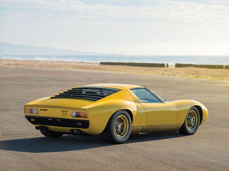 Exceptionnel Lamborghini Miura SV