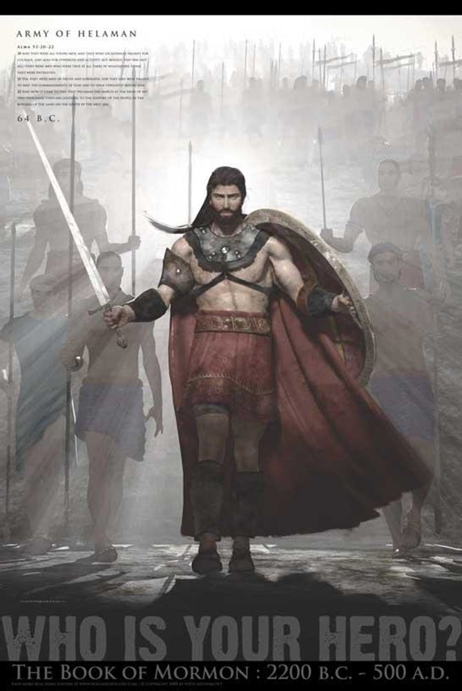 Army of Helaman Poster | Art & Decor on LDSBookstore.com (#RHP-B7L)