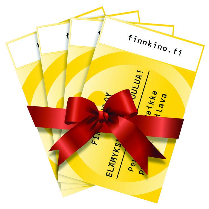 Finnkino leffalippupaketti joulu 4 kpl