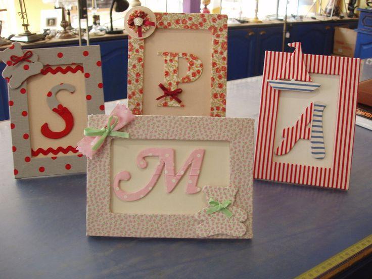 F.D.: Los marcos decorados de las3 | Aprender manualidades es facilisimo.com