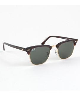 Ray Ban Sunglasses - Mens - Ray Ban Club Master Tortoise Sunglasses