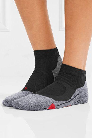 FALKE Ergonomic Sport System - Ru4 Knitted Socks - Black - IT35-36