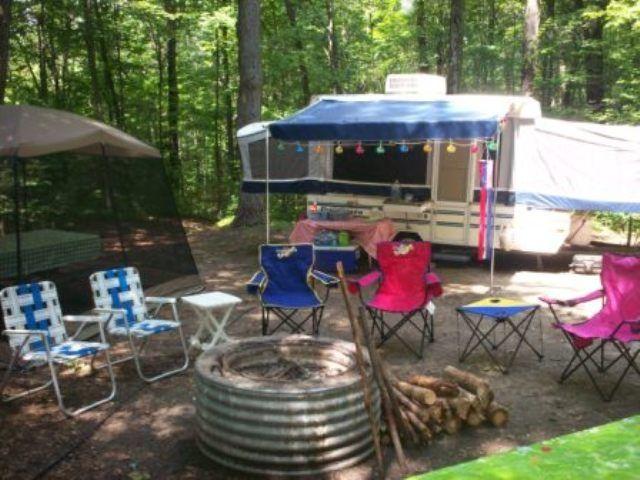 Dutchman Tent Trailer Remodel