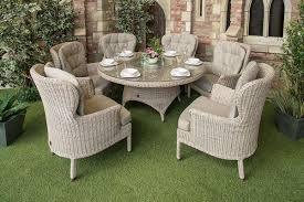 4 seasons outdoor - Кресло Buckingham  и стол Victoria