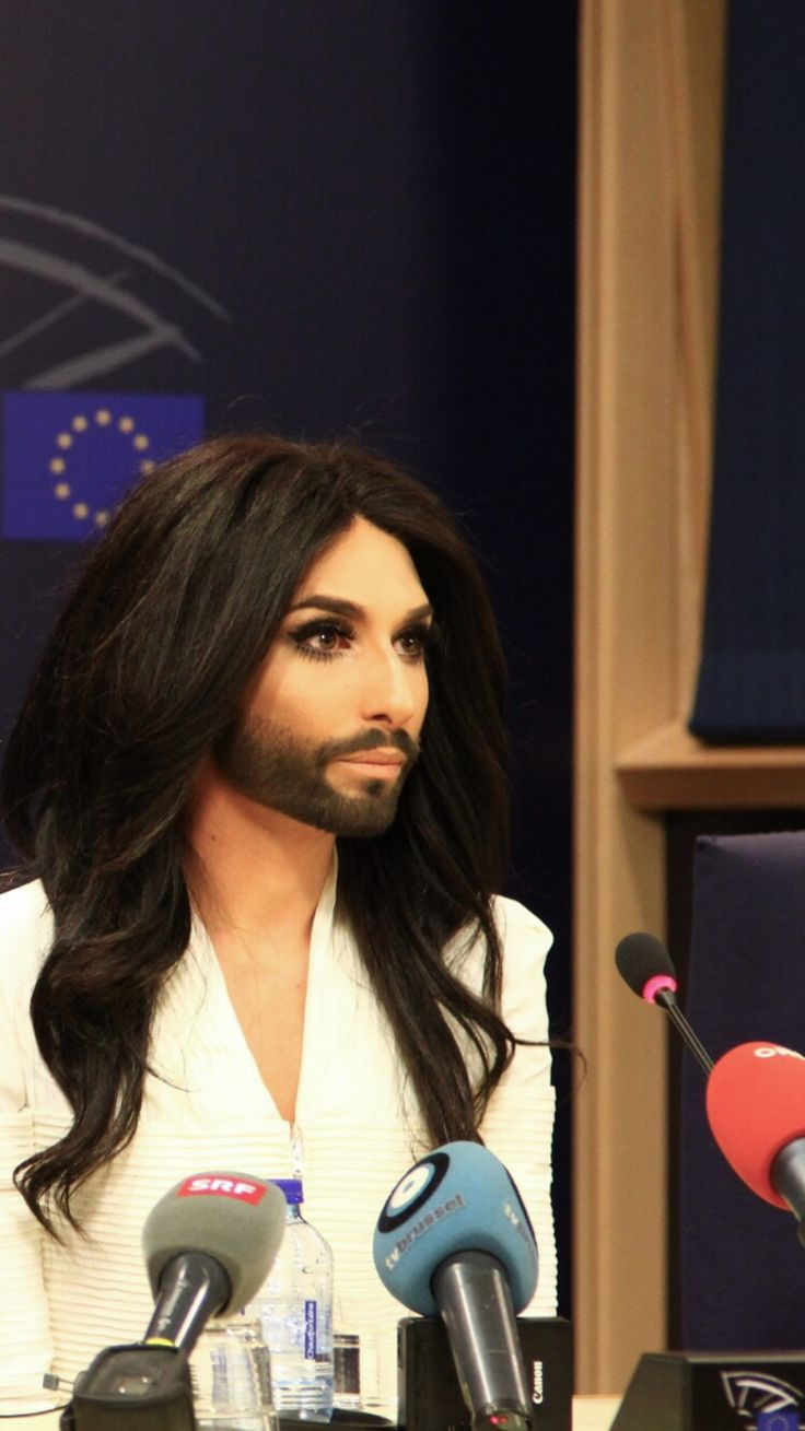 Conchita wurst and dana international in eurovision first star - Conchita Wurst