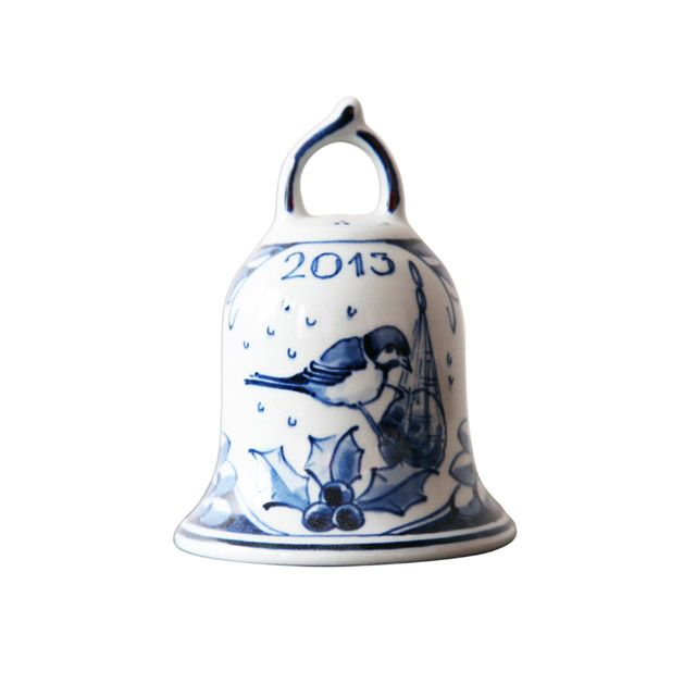 Christmas Delft Blue Bell