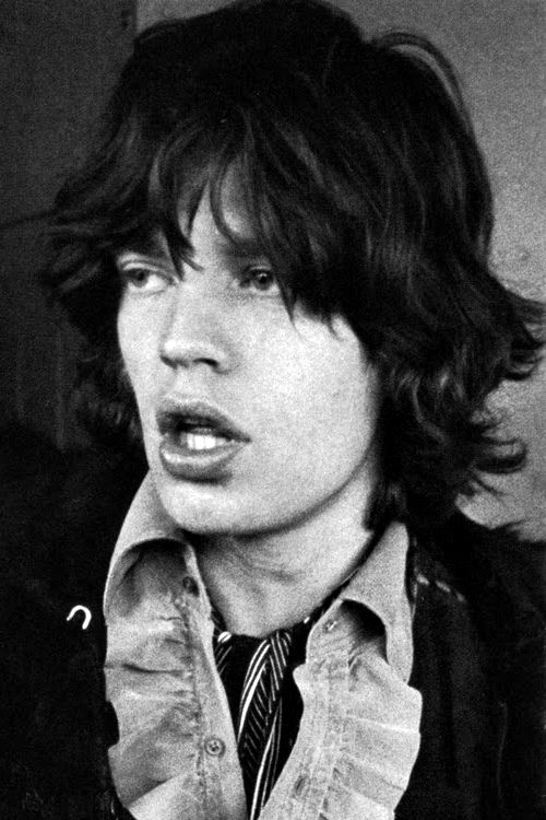 Oh Mick, that hair.