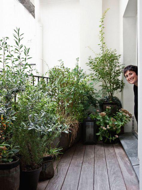 Isabelle Juy, architecte d'intérieur, nous dévoile sa terrasse parisienne …