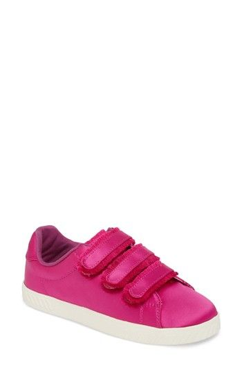 TRETORN FRINGED STRAP SNEAKER. #tretorn #shoes #