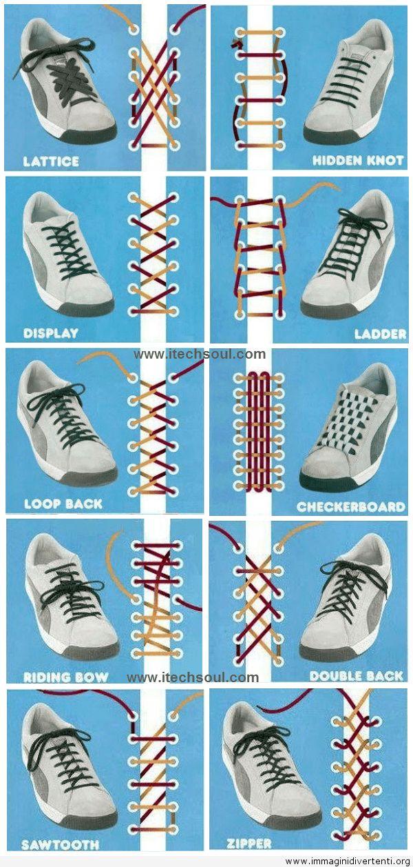 Come legare le scarpe