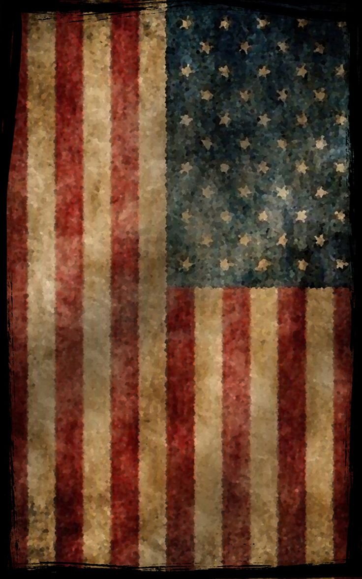 picture of an american flag to color in