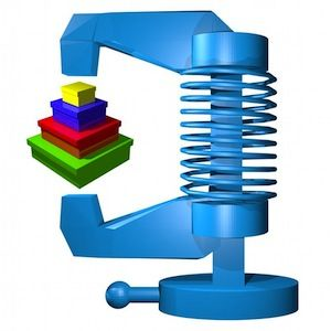 """Do you need WinZip or 7-Zip? """"unzip + zip & send"""" is the right application for You!"""