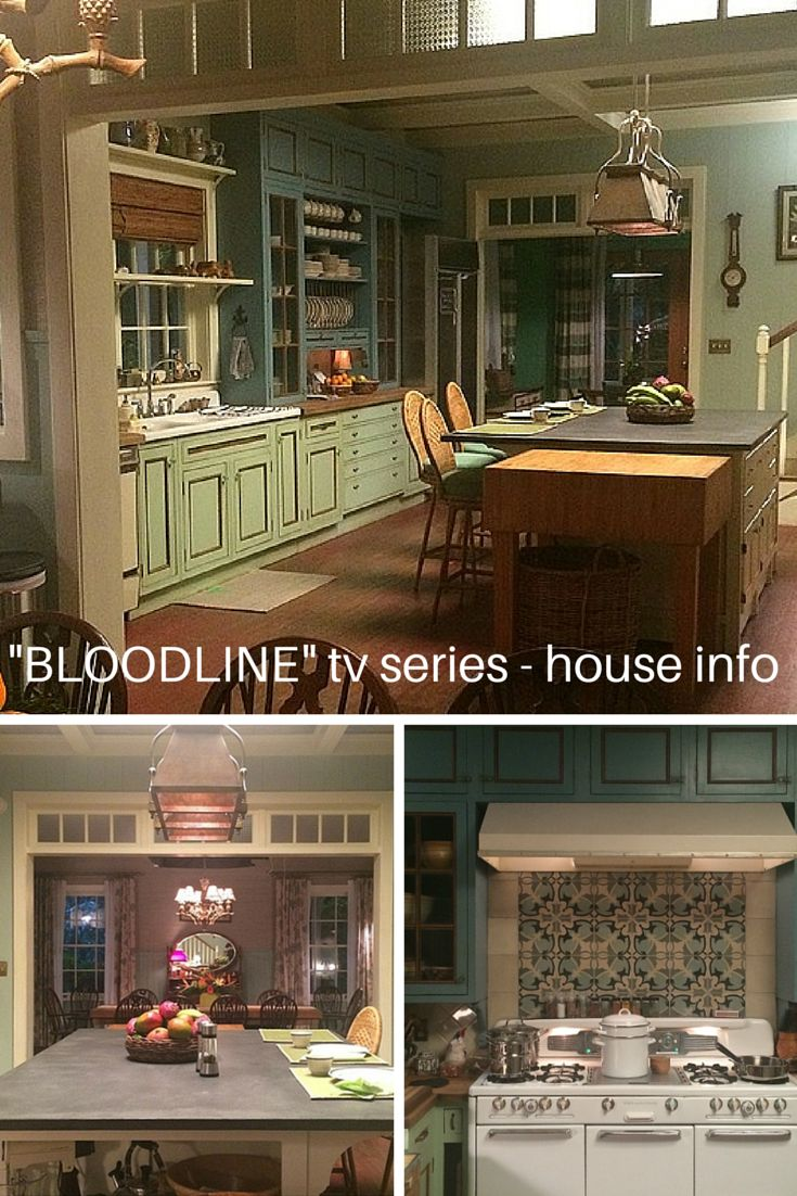 Paint colors, materials, and info about the house in the Netflix tv series, 'Bloodline'. Interview with Production Designer, Scott P. Murphy.