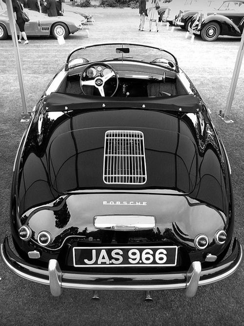 Porsche 356 Speedster - need I say it again? THIS IS MY FAVORITE CAR OF ALL TIME!