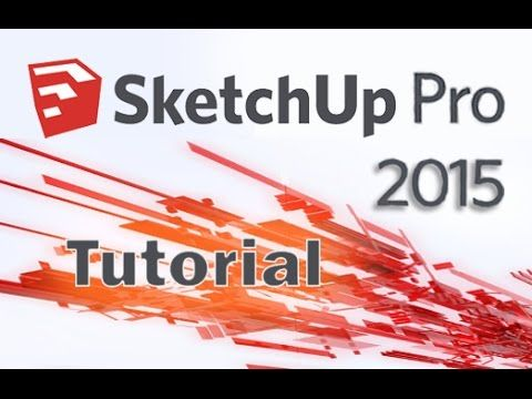 [VOICE + TEXT] Get into a new Way of Learning SketchUp Pro 2015. SketchUp Pro 2015 tutorial for beginners, getting started, basics. Full Guide here: http://b...