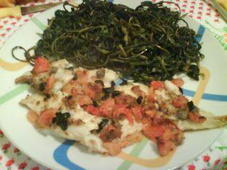 My Ricettarium: Merluzzo al forno con capperi ed olive