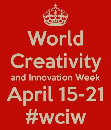 It's World Creativity and Innovation Week!